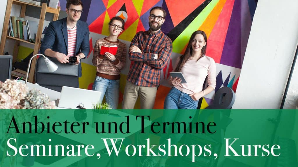 Übersicht Workshops, Kurse und Anbieter