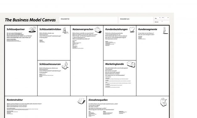 Business Model Canvas mit Erläuterungen, PDF, Deutsch